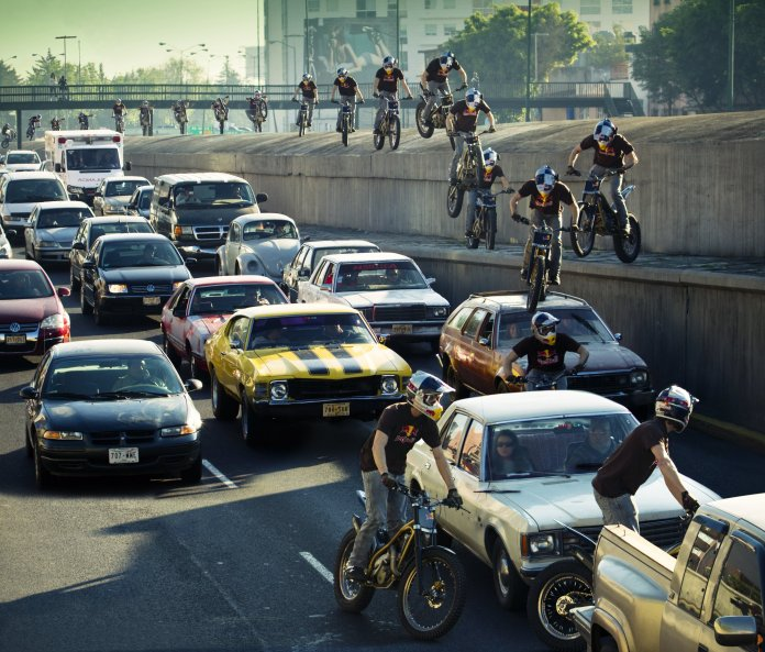 Julien Dupontīs Traffic Jam México_Action_Fotógrafo Alfredo Martinez_Red Bull Content Pool